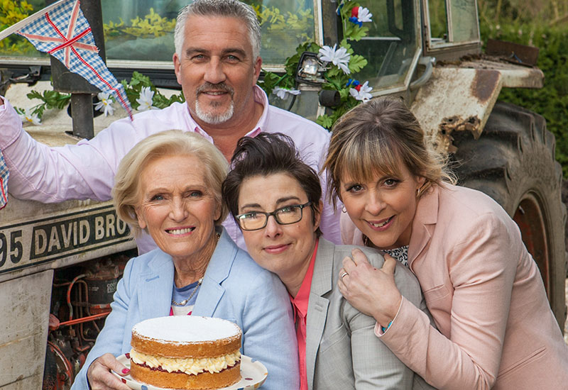 S3:E2 – The Great British Bake Off TV Opening – Video Death Loop